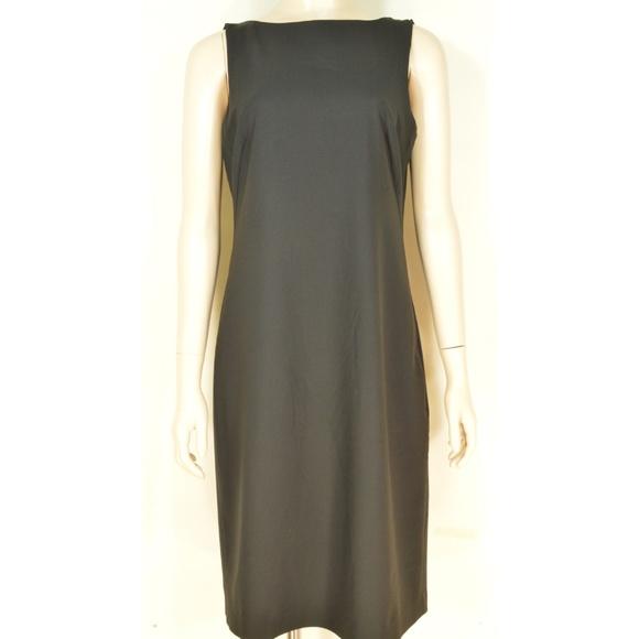 Theory Dresses & Skirts - Theory dress 10 Betty Tailor LBD black sheath ligh